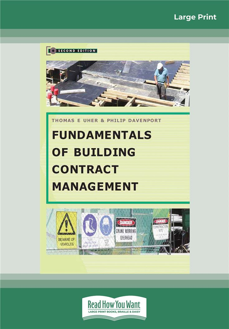 Fundamentals of Building Contract Management 2nd Edition