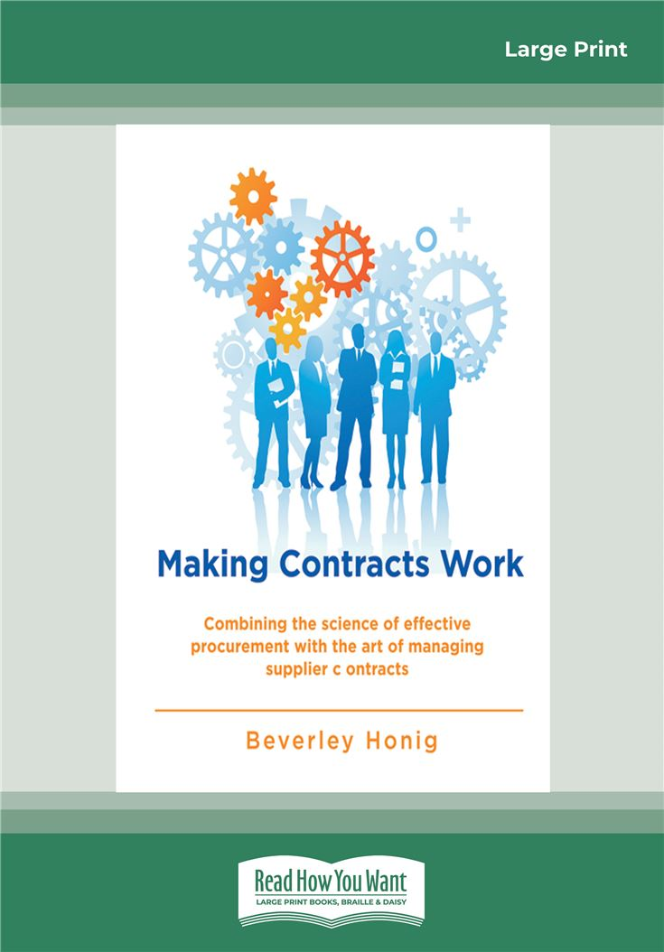 Making Contracts Work