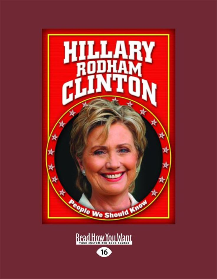 Hillary Rodham Clinton (People We Should Know)