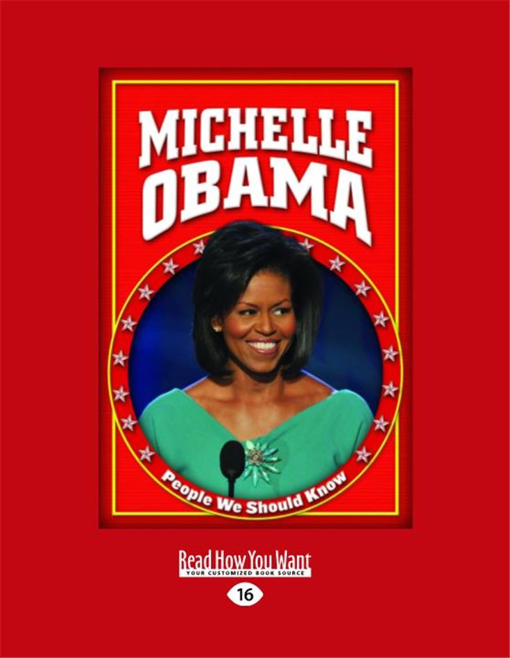 Michele Obama (People We Should Know, Second)