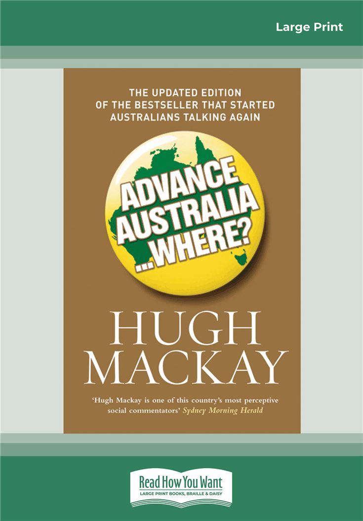 Advance Australia ... Where?