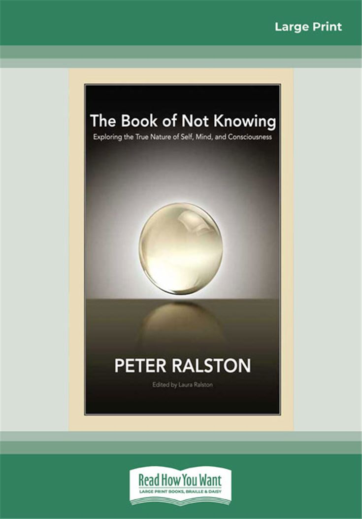 The Book of Not Knowing: