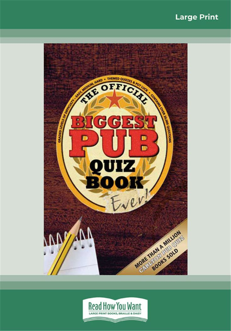 The Biggest Pub Quiz Book Ever! 1