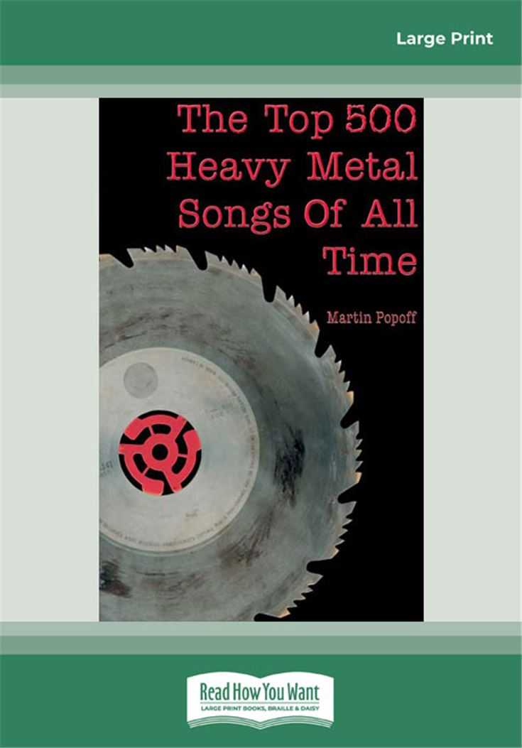 The Top 500 Heavy Metal Songs of All Time