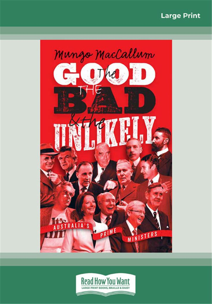 The Good, The Bad and The Unlikely