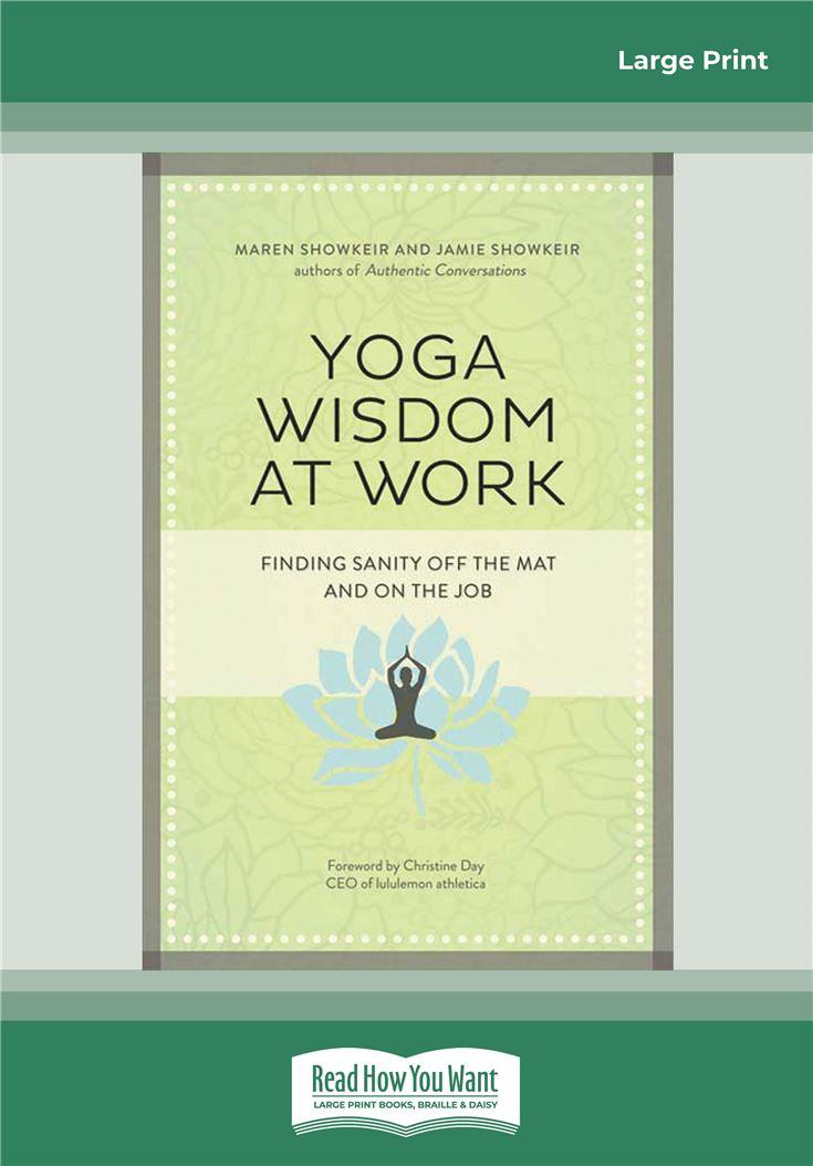 Yoga Wisdom at Work