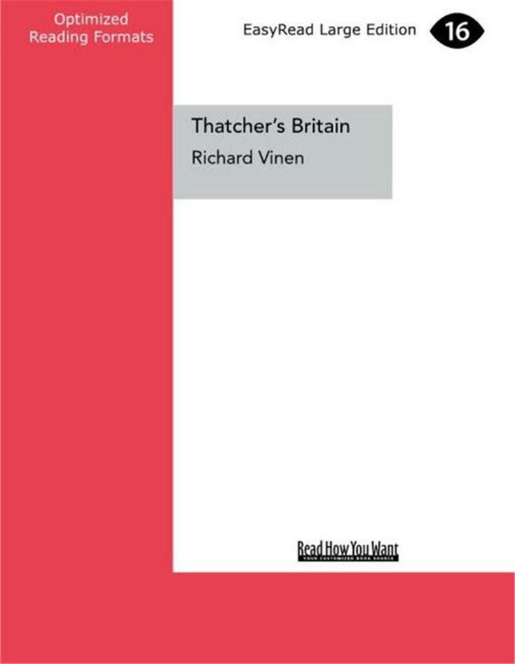 Thatcher's Britain