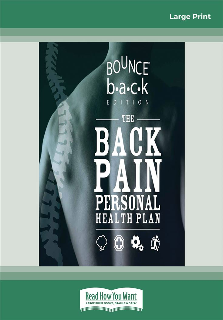 The Back Pain Personal Health Plan