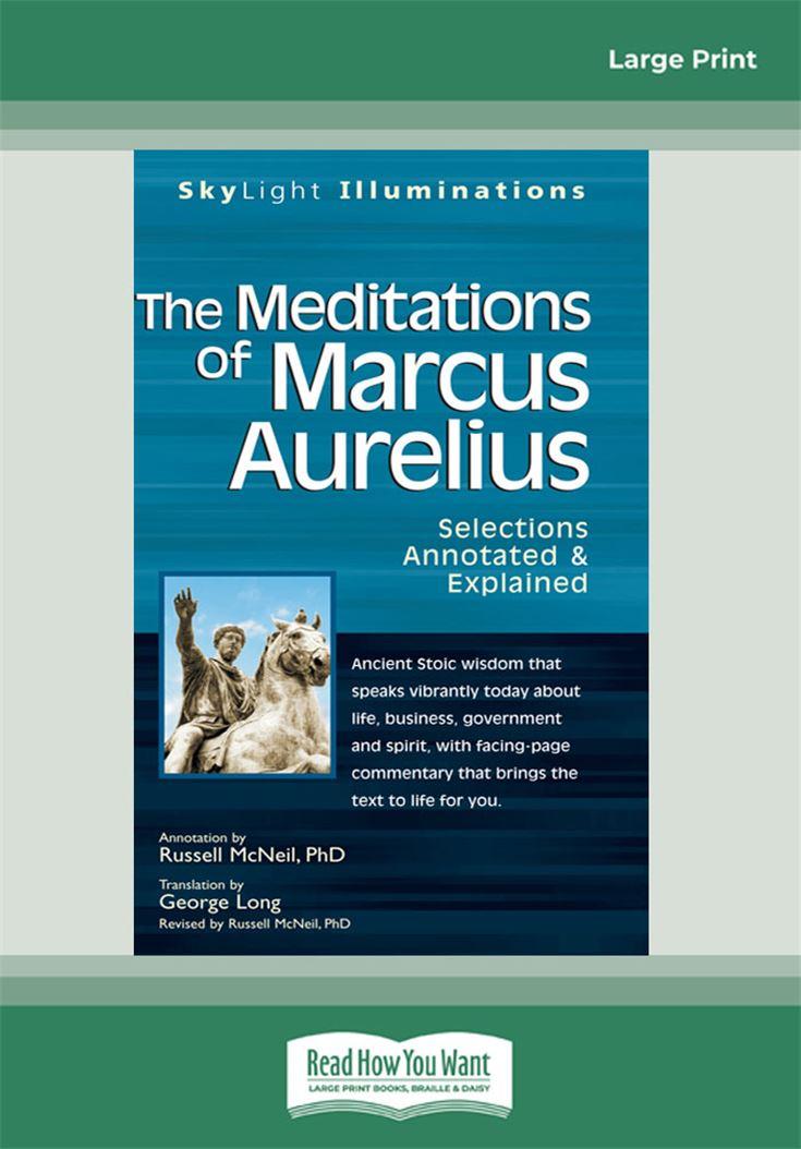 The Meditations of Marcus Auerlius