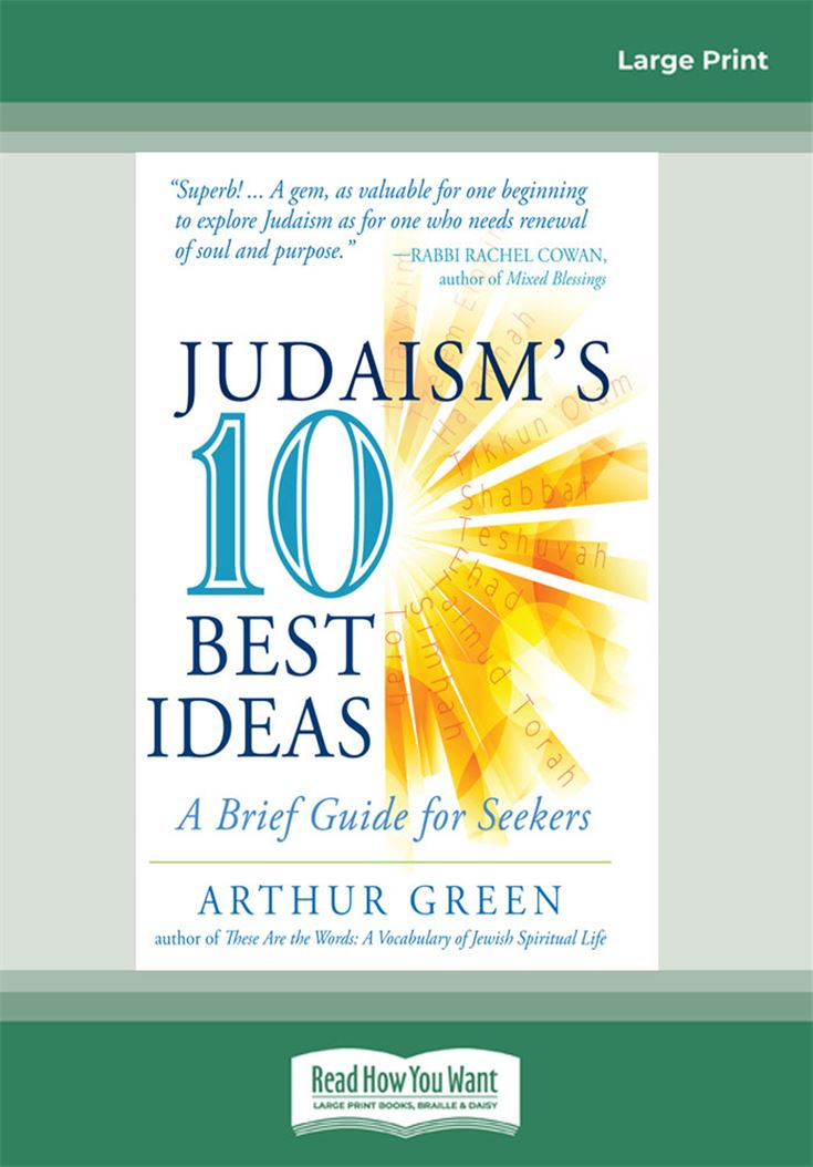Judaism's Ten Best Ideas