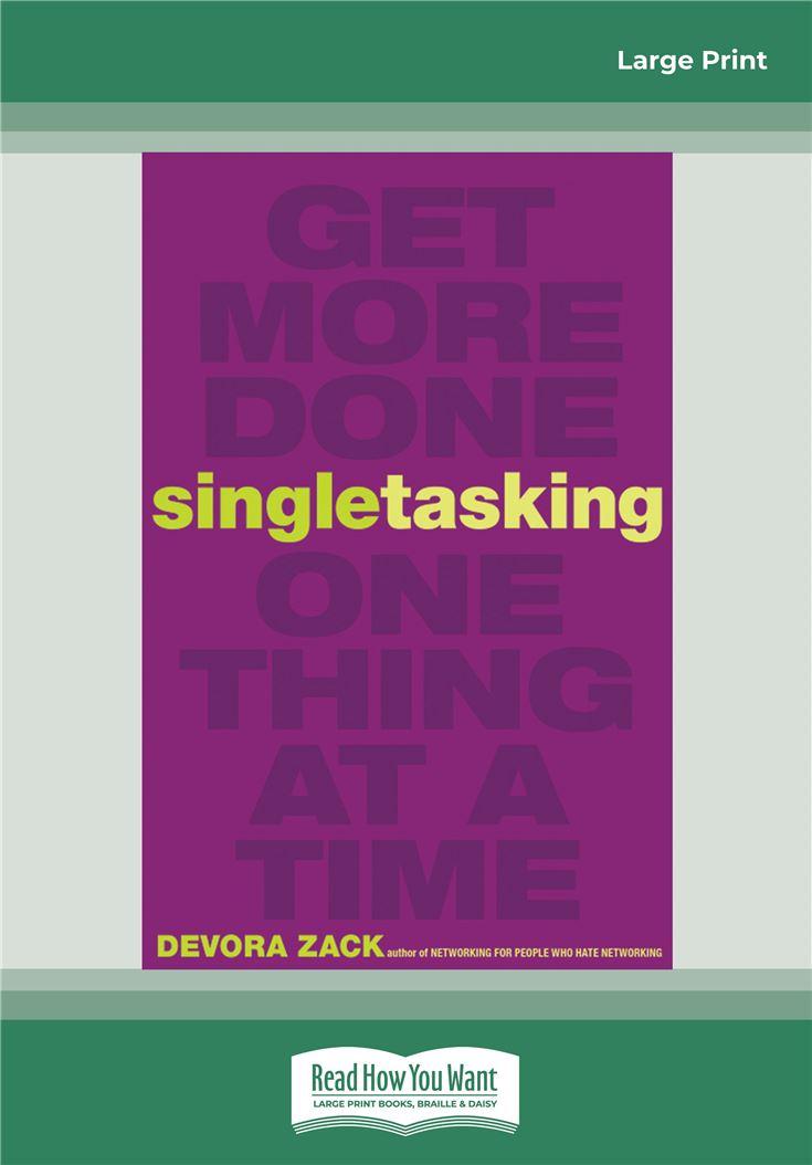 Singletasking