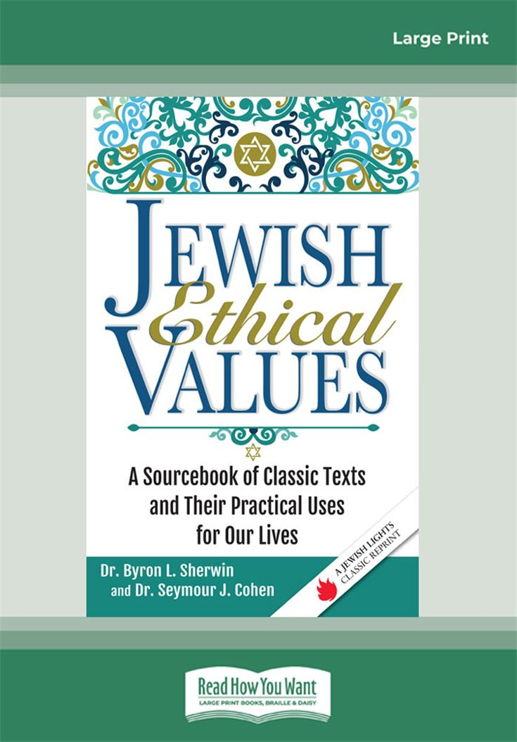 Jewish Ethical Values