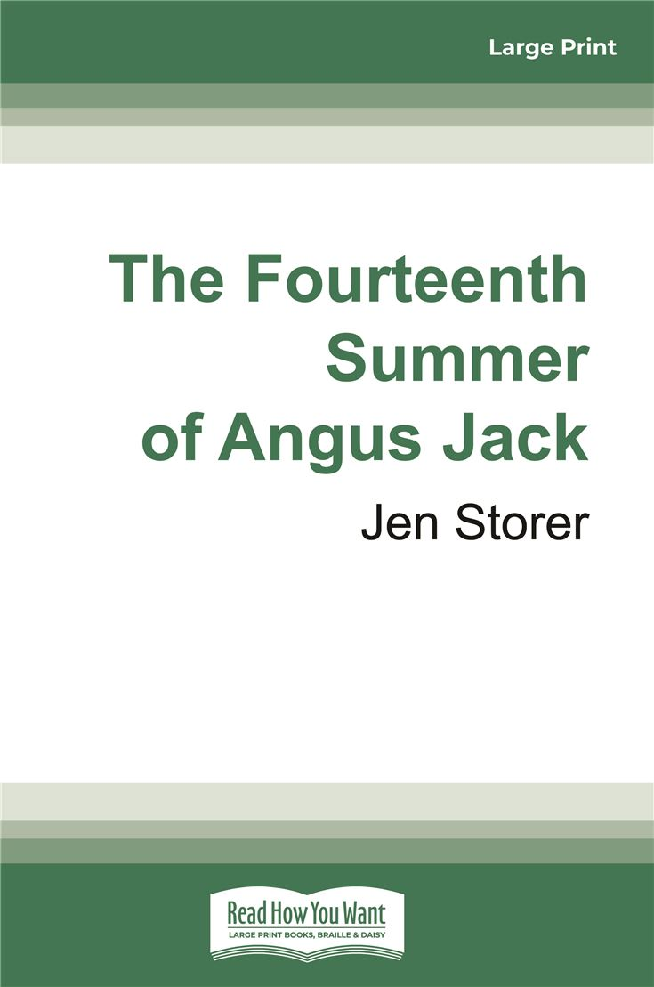 The Fourteenth Summer of Angus Jack