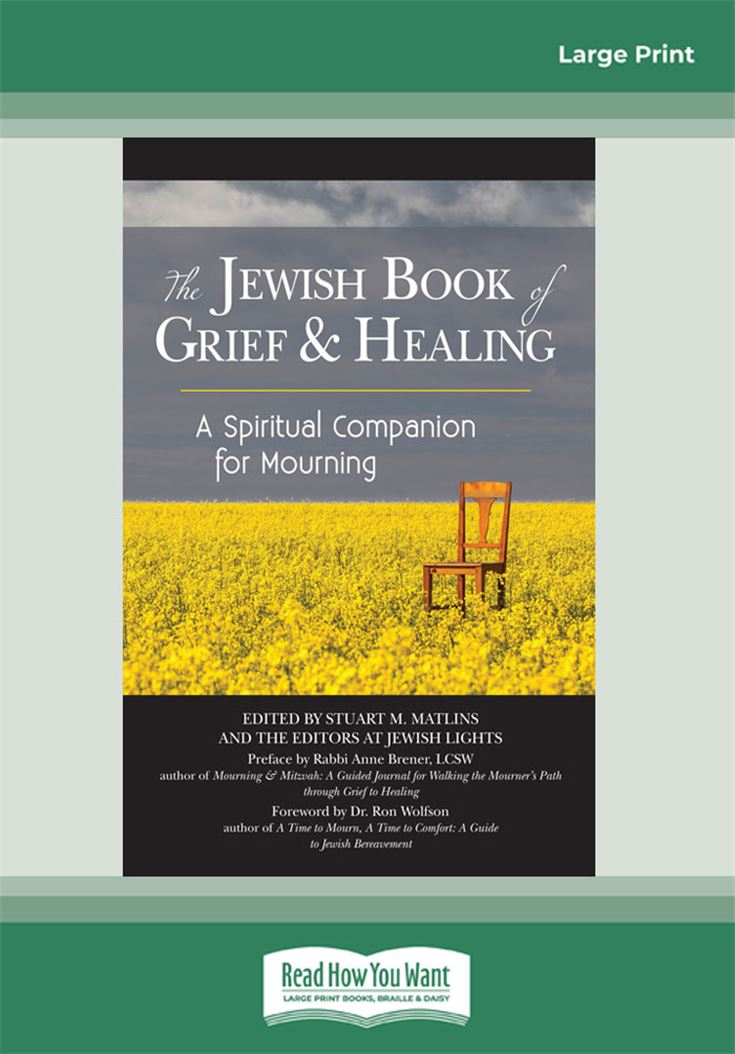 The Jewish Book of Grief and Healing