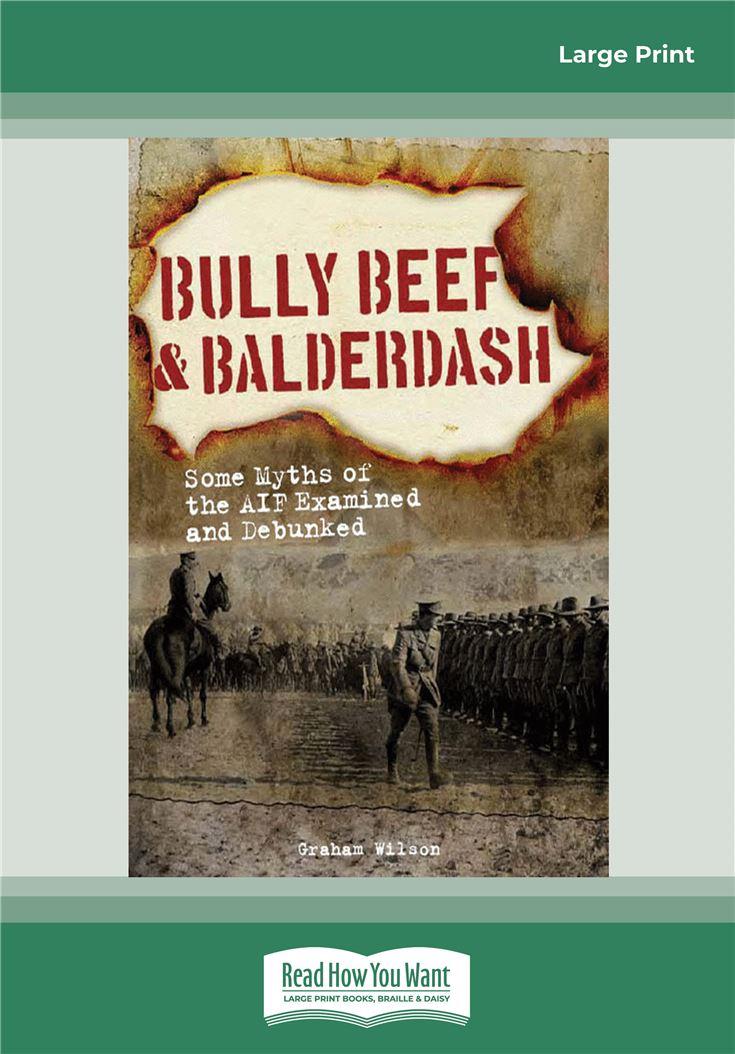 Bully Beef and Balderdash
