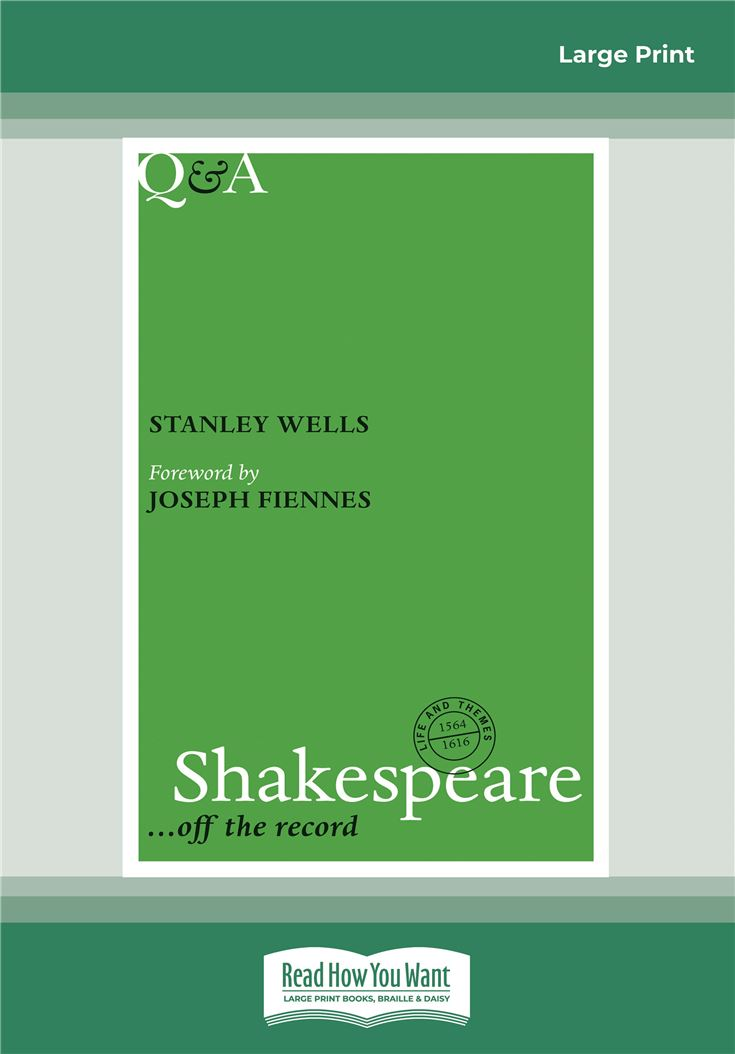 Q&A Shakespeare