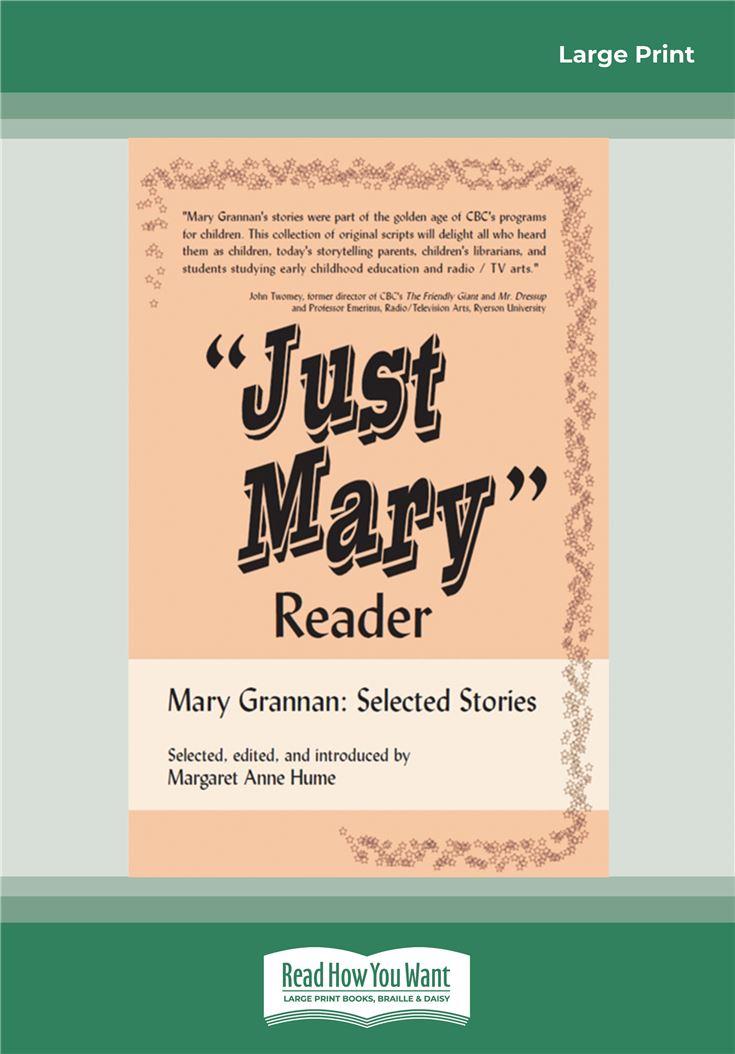 ''Just Mary'' Reader