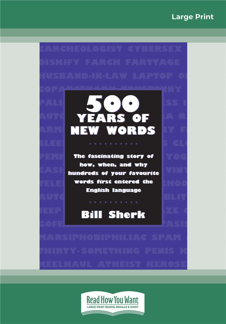 500 Years of New Words