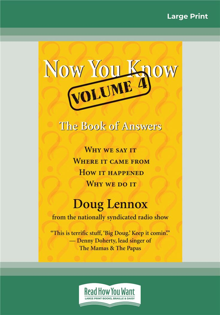 Now You Know, Volume 4