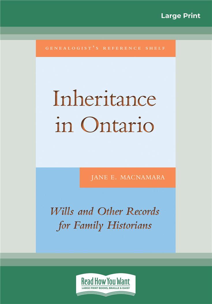 Inheritance in Ontario