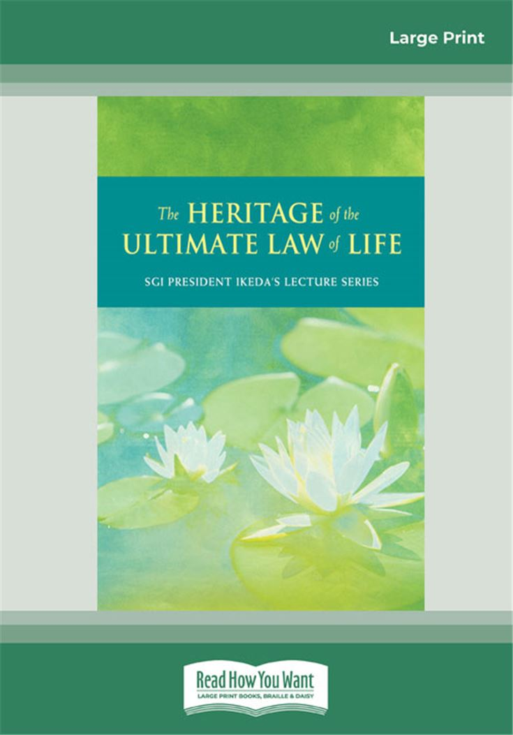 The Heritage of Ultimate Law of Life