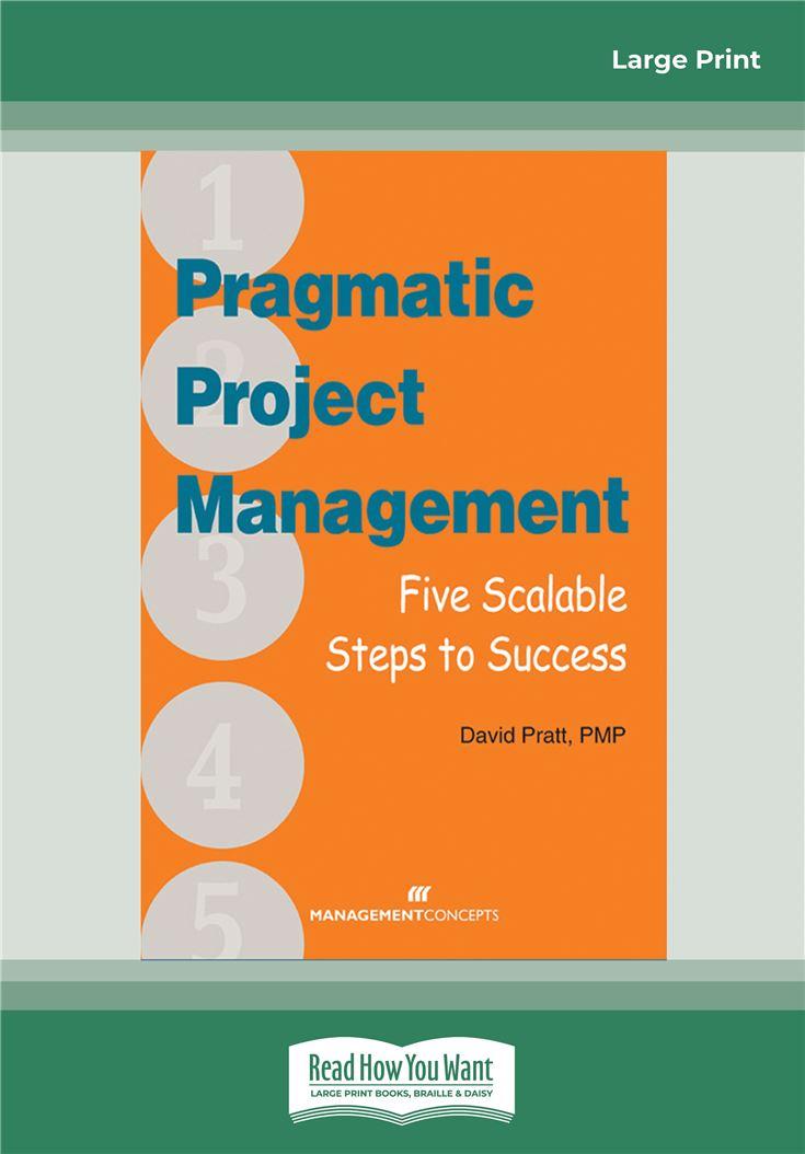 Pragmatic Project Management