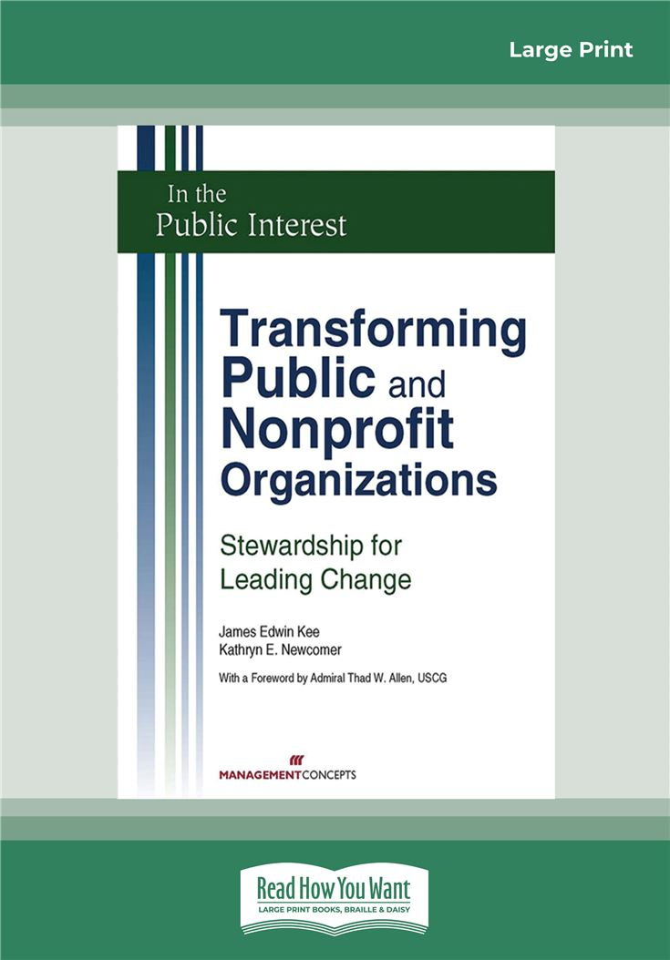 Transforming Public and Nonprofit Organizations