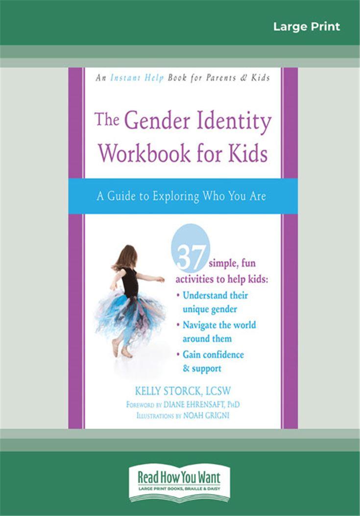 Gender Identity Workbook for Kids