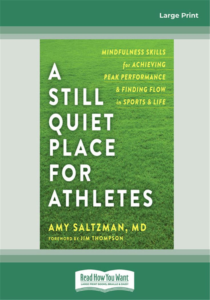 Still Quiet Place for Athletes