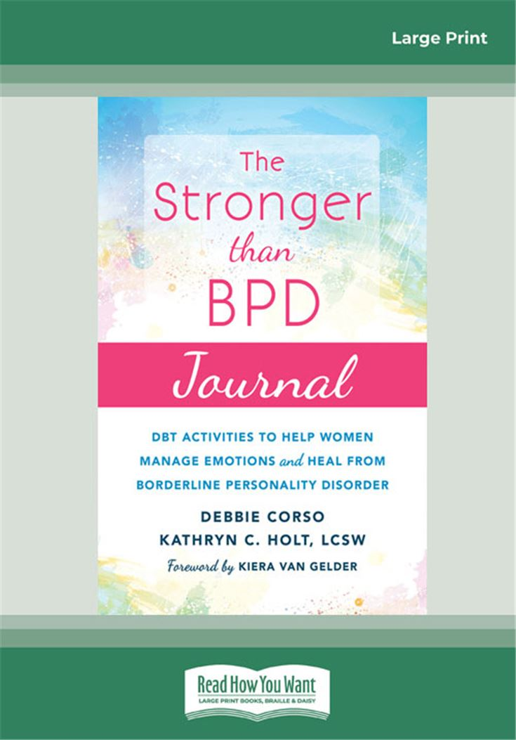 Stronger Than BPD Journal
