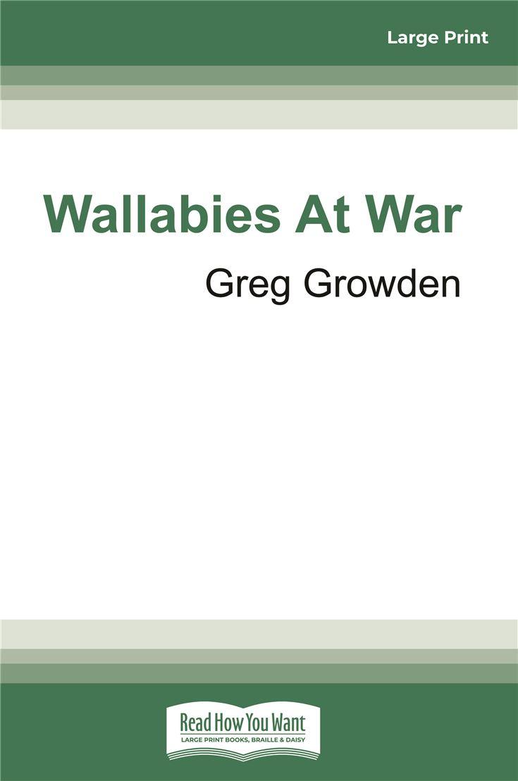 Wallabies At War