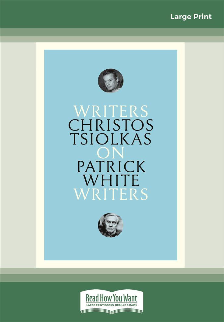 On Patrick White