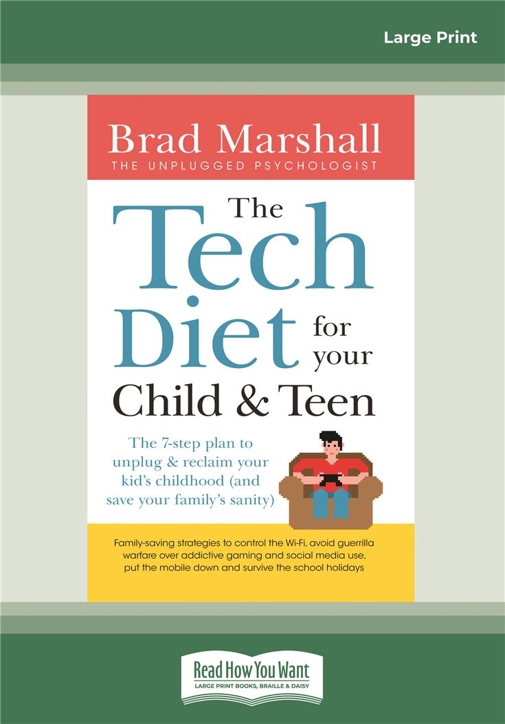Tech Diet For Your Child And Teen