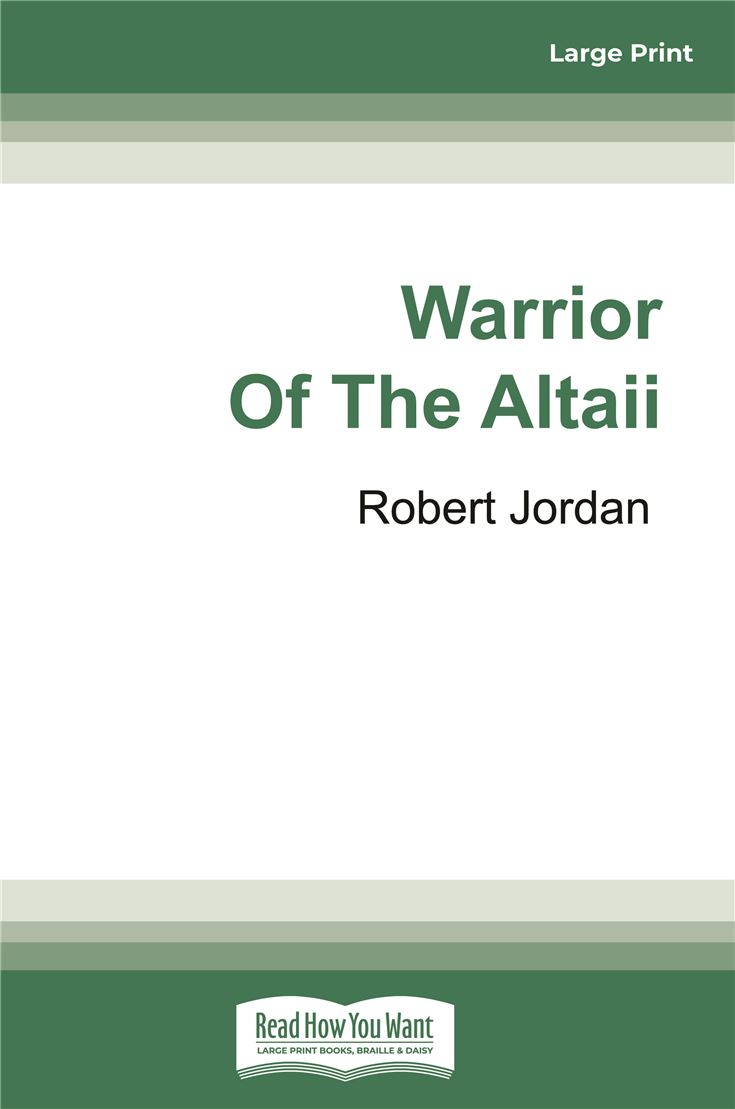 Warrior of the Altaii