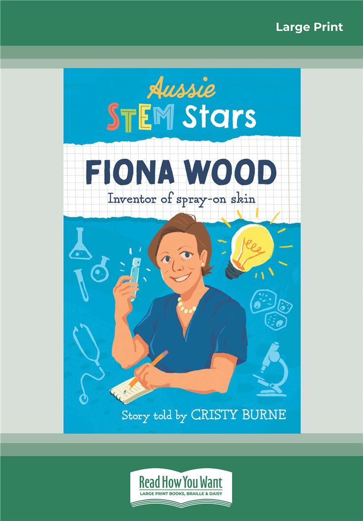 Aussie STEM Stars Fiona Wood