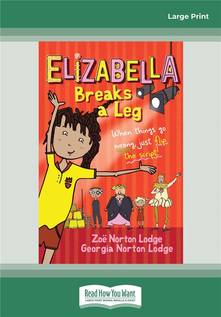 Elizabella Breaks a Leg
