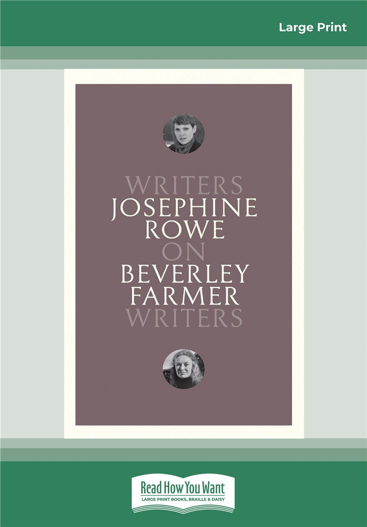 On Beverley Farmer