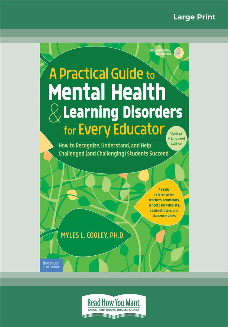 A Practical Guide to Mental Health & Learning Disorders for Every Educator: