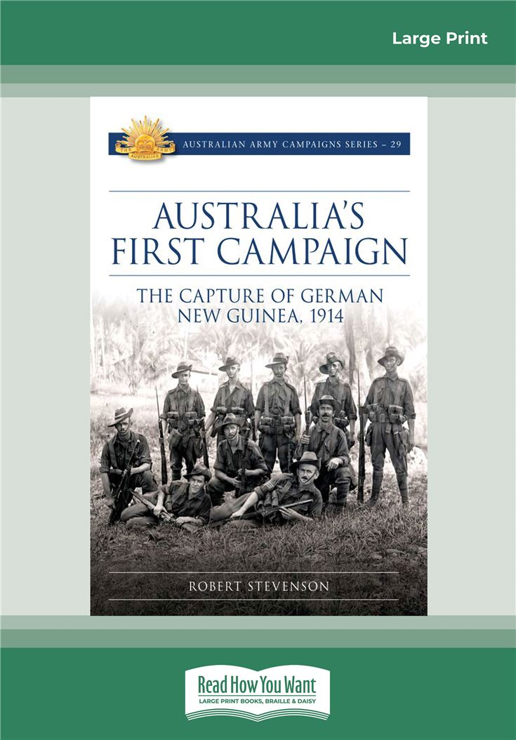 Australia's First Campaign