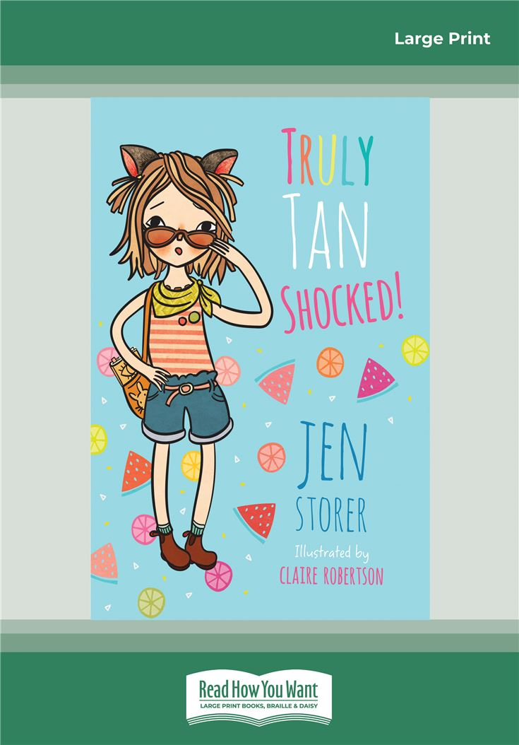 Truly Tan: Shocked! (Book 8)